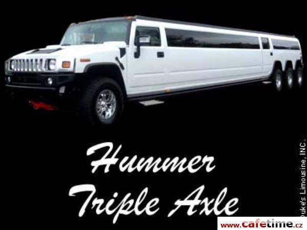 Limuzína, Limuzíny pronájem, Limuzína s řidičem, Limuzína Hummer Praha