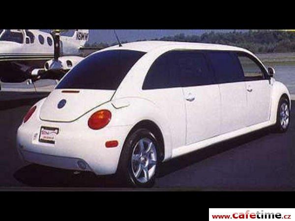 Limuzína, Limuzíny pronájem, Limuzína s řidičem, Volkswagen Beatle
