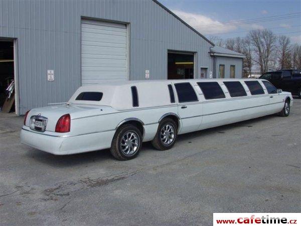 Limuzína, Limuzíny pronájem, Limuzína s řidičem, Cadillac