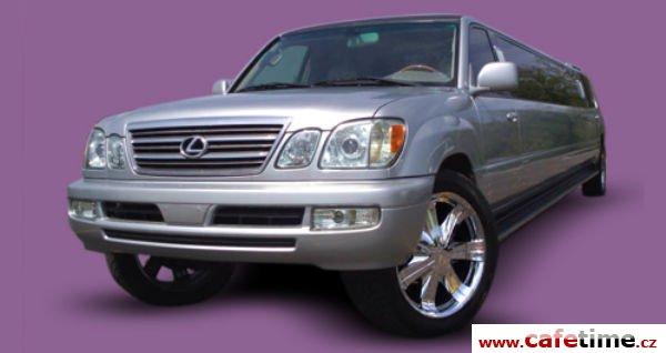 Limuzína, Limuzíny pronájem, Limuzína s řidičem, limuzína Lexus