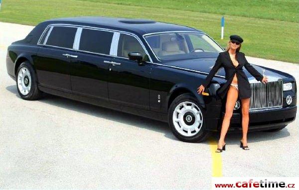 Limuzína, Limuzíny pronájem, Limuzína s řidičem, Limuzína Rolls Royce