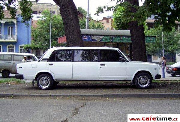 Limuzína, Limuzíny pronájem, Limuzína s řidičem, limuzína žigulík