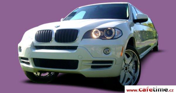 Limuzína, Limuzíny pronájem, Limuzína s řidičem, BMW X5