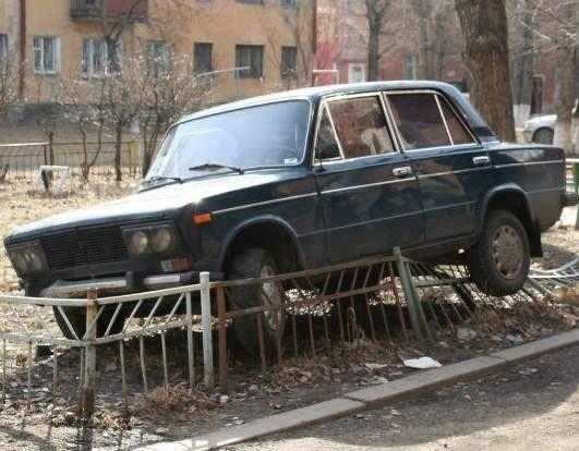 Autonehody foto, parkování