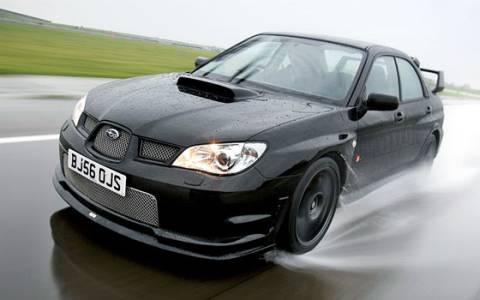 Subaru Impreza WRX Sti - Brutální jízda městem (VIDEO)