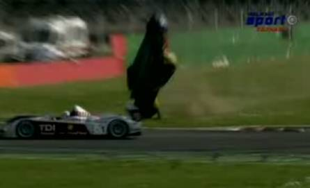 Le Mans 2008 Monza - Stephane Ortelli - Hrozná nehoda (VIDEO)