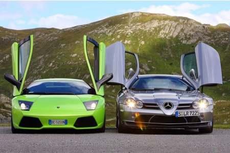 Luxusní auta - Sportovní vozy v akci (VIDEA)