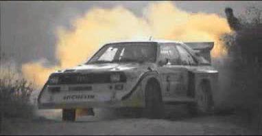 Rally videa a brutální skupina B - Audi S1, Lancia Stratos a další