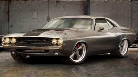 Americká auta - Muscle Cars v akci