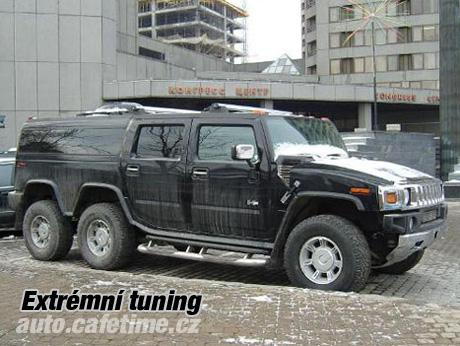 Hummer H2 - Extrémní tuning 2