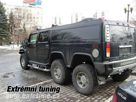 Hummer H2 - Extrémní tuning praha