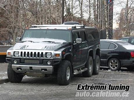 Extrémní tuning Hummer