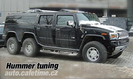 Hummer H2 - na šesti kolech