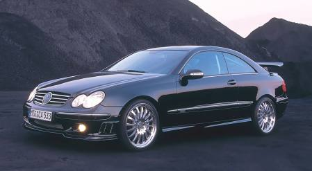 Mercedes Benz CLK tuning, drifting (VIDEO)