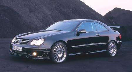 Mercedes Benz CLK tuning, drifting (VIDEO)