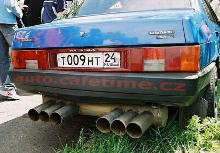 Luxusní vozy z Ruska - Lada Extreme tuning