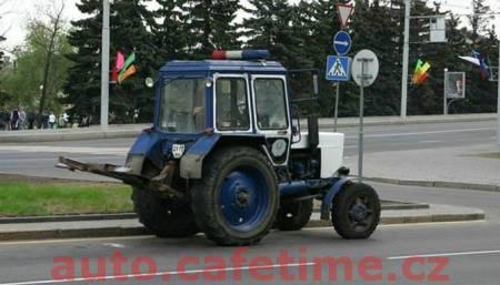 Policejní patrola - Luxusní vozy