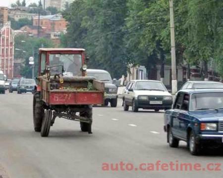 Luxusní vozy - Traktor pro movité