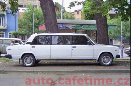 Luxusní vozy z Ruska - Lada long