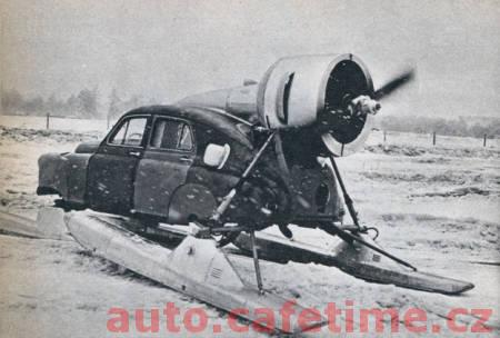 Sněžný super vozidlo