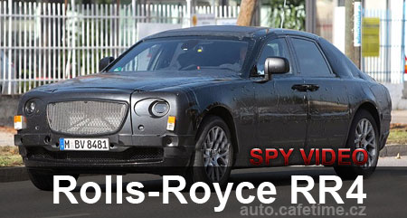 Rolls Royce RR4 první video